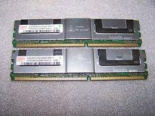 4GB Hynix PC2-5300 667MHz DDR2 Fully Buffered ECC Server FBDIMM, 2x 2GB Sticks