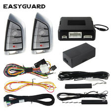 Easyguard auto start compatible with factory Oem push start button pke car alarm