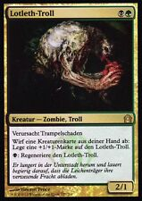 HOJA Lotleth-troll / Lotleth troll. NM   Volver a Ravnica. GER   MTG Magic
