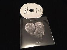 MICHAEL KIWANUKA LOVE & HATE AUSTRALIAN RETAIL SAMPLE CD