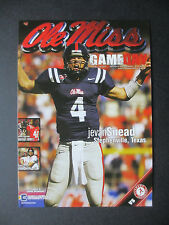 2009 Alabama vs Ole Miss Football Program Postcard Official Reproduction