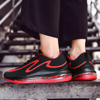 Men's Personality Air Cushion Athletic Sneakers Running Breathable Tennis Shoes
