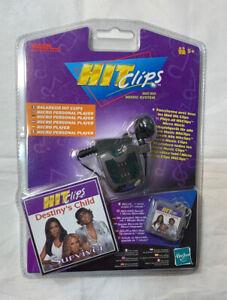 Vintage Tiger Hit Clips Destiny's Child Survivor Micro Personal Player 2002 MIB