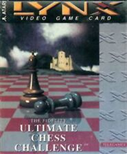 The Fidelity Ultimate Chess Challenge Atari Lynx Game NEW