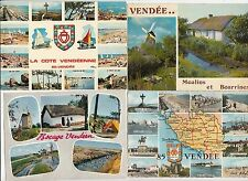 Lot 4 cartes postales anciennes VENDEE 1