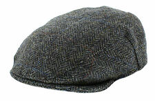 Failsworth Harris Tweed 'Stornoway' Country Flat Cap 100% Wool choice of colours