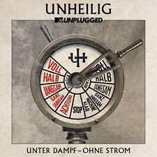 "UNHEILIG MTV Unplugged ""Unter Dampf - Ohne Strom"" CD 2015"