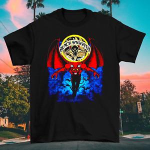 Black Sabbath - Mob Rules Tour Blue Cotton Black Unisex S-2345XL T-Shirt