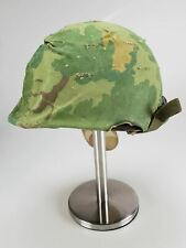 Us Army M1 Vietnam War Helmet with Cover & Chinstrap