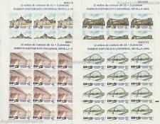 ESPAGNE - 1991 EXPO'92 SEVILLE 2976-79 Klein ARC **