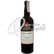 TAYLOR'S FINE WHITE PORT WINE PRODUCT OF PORTUGAL VINO PORTO 20%VOL 75CL DESSERT