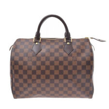 LOUIS VUITTON Damier Speedy 30 Brown N41364 Hand Bag 800000082630000