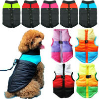 Hundekleidung Haustier mantel Wintermantel Katze Jacke Weste