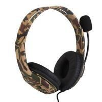 For PS4 Xbox one Laptop 3.5mm Gaming Headset Wired Surround Headphone Mic Stereo