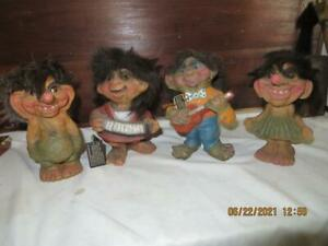 RARE Vintage Nyform Norway 4 Trolls 2 with tags