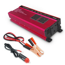2000W/4000W Power inverter DC 12V To AC 220V-240V Converter 4 USB 4.8A tv laptop