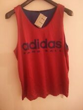 VINTAGE ADIDAS REVERSIBLE PUNCH VEST/TANK - MADE IN FRANCE - OVERSIZE SIZE XL