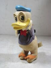 Vintage Disney Donald Duck Wood By-Product Toy Figure Japan