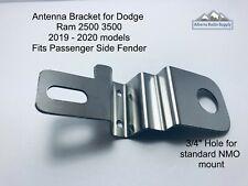 Antenna Bracket Fits 2019 2020 Dodge Ram 2500 3500  NMO  Passenger Side Fender