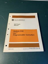 Allen-Bradley Self-Teach Manual Bulletin 1745 Slc 100 Programmable Controller