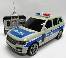 großes Polizeiauto ferngesteuert mit Blaulicht, Sirene, Scheinwerfer - Licht NEU