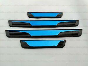 For Hyundai Accent Accessories Door Sill Trim Protector Scuff Plate Kick Panel