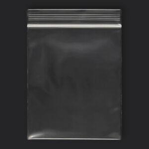 "1000 qty 5"" x 6"" Reclosable Clear Plastic Poly Zipper Bags Heavy Duty 4 Mil"