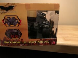 SEALED, UNOPENED Batmobile from Batman Begins 2005