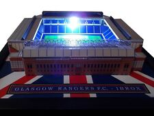 RANGERS IBROX MODEL STADIUM WITH WORKING FLOODLIGHTS