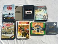 ZX SPECTRUM GAMES RED OCTOBER COMBAT LYNX ARNHEM ETC. (6) - LOT 12