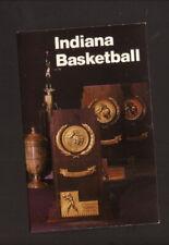 Indiana Hoosiers--1987-88 Basketball Pocket Schedule--WTTV