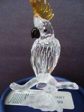 Swarovski Crystal Cockatoo figurine 261635 Mint with all original packaging.