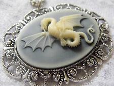 Dragon Kraken Wing Necklace Pendant thrones jewelry Mythical Castle Medieval