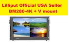 LILLIPUT BM280-4K Broadcast Ultra-HD Monitor W/SDI/ HDMI/DVI/VGA/TALLY V Mount