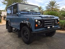 1989 Land Rover Defender 90 - Left Hand Drive
