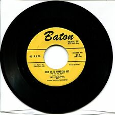THE FIDELITY'S - HOLD ON TO WHAT'CHA GOT / THE THINGS I LOVE - 45rpm  BATON #252