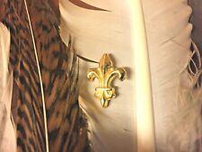 Pin's  fleur de lys  n° 1  doré