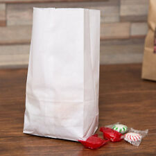 2 lb. White Paper Bag 500/Bundle Fast Shipping !