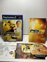 Pro Evolution Soccer 6 (Sony PlayStation 2, 2006) - European Version Game  Ps2