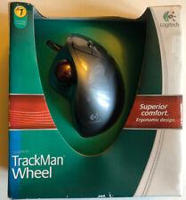 Logitech TrackMan Wheel Optical (Silver), Brand New, Sealed