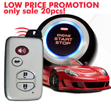 pke car alarm system with ignition start stop feature remote engine start stop