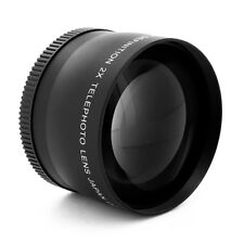 58MM 2x Telephoto Zoom Lens for Canon Rebel T4i T3i T3 T2i T2 T1i XT XTi XS XSi