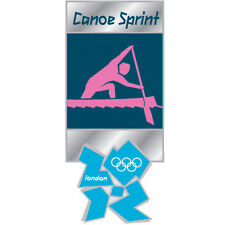 London 2012 Olympics Canoe Sprint Pictogram Official Commemorative Pin
