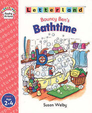 Letterland Bouncy Ben's Bath Time by Susan Welby Paperback 1998 Stage 1 Age 2-4