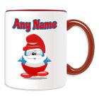 Personalised Gift Papa Smurf Mug Money Box Cup Funny Novelty Penguin Cartoon Tea