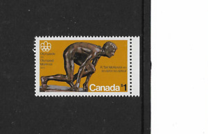 1976 CANADA -  MONTREAL OLYMPIC GAMES - $I UNMOUNTED MINT SINGLE STAMP.