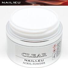 Profesional Polvo De Acrílico Transparente nail1eu CLARO 50ml/41G