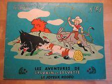 Albums Fleurette Sylvain et Sylvette N°51, 1961, EO