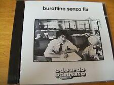 EDOARDO BENNATO BURATTINO SENZA FILI  CD BOLLO SIAE A SECCO