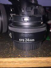 Canon 60d & 24mm F/2.8 STM